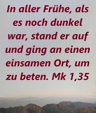 Predigt Markus 1 32-39